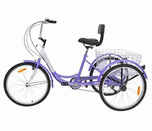 Top 3 Wheel Bikes for Seniors