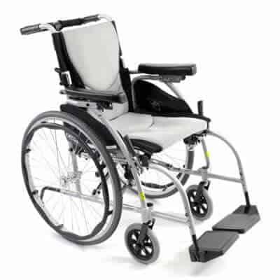Karman s 106 ergonomic adjustable back wheelchair