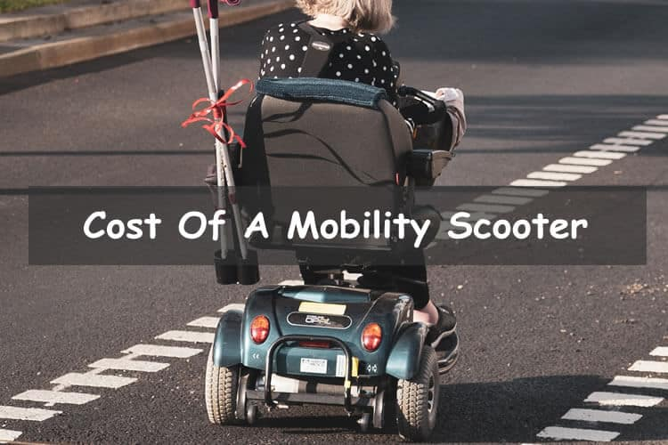How much does a mobility scooter cost