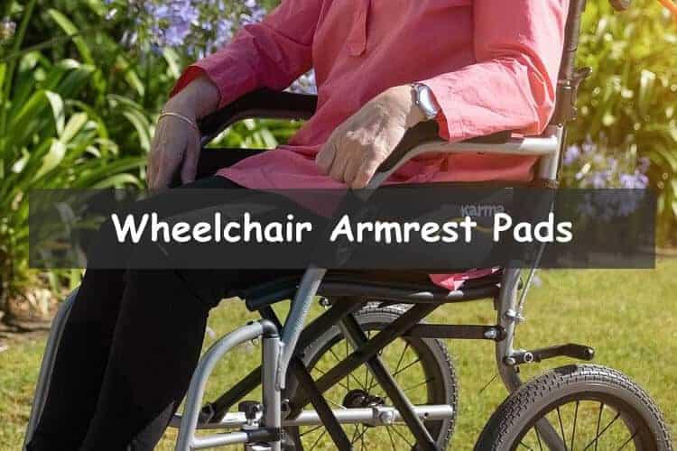 Wheelchair armrest pads