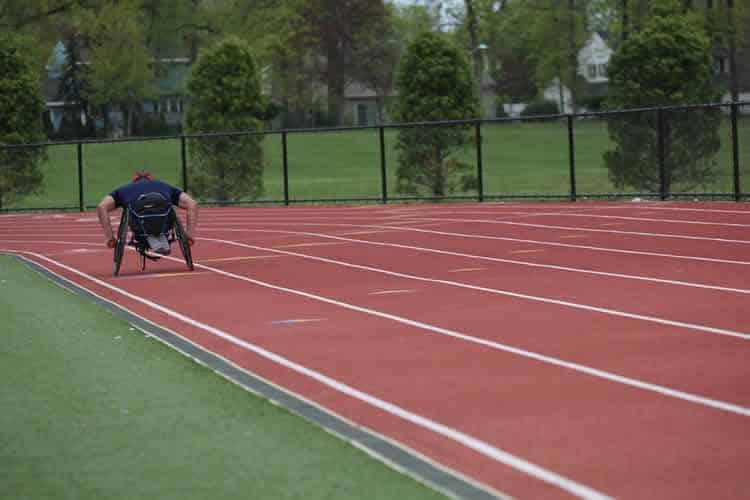 Racing wheelchairs