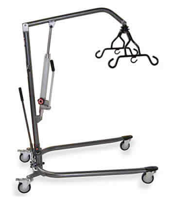 Medline Hydraulic Patient Lift With Sling