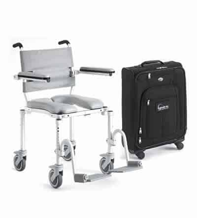 Multichair Foldable Travel Shower Commode Chair