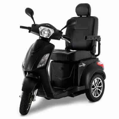 Pride Raptor 3 wheel heavy-duty scooter