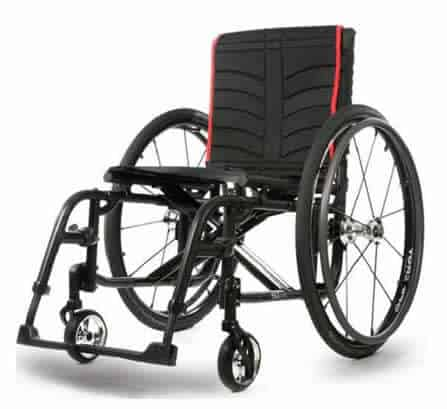 Quickie 2 foldable ultra lightweight wheelchair