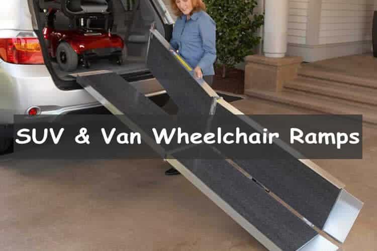 wheelchair ramps for SUVs & Vans